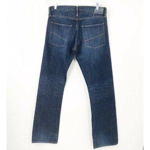 Gilded Age 100% Cotton Dark Wash Jeans -Sz 33 X 34